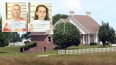 Къщата, в която осиновените българчета били малтретирани. Снимка  Снимка: BG VOICE