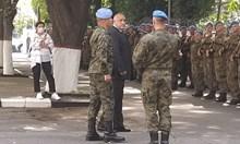 Бойко Борисов пристигна в Спецсилите в Пловдив (Видео)
