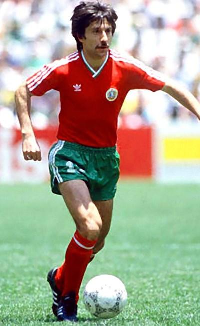 Ради Здравков е единственият ни футболист, вкарал два гола на Швейцария.