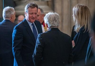 Бившият британски премиер Дейвид Камерън Снимка: Ройтерс