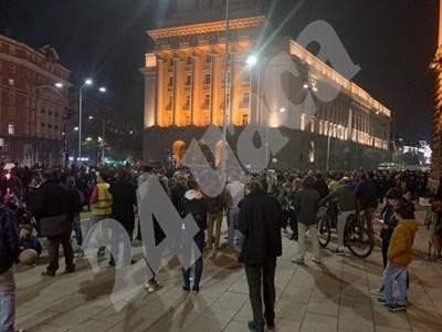 Така изглеждаше протестът срещу Гешев предния път. Снимка: Архив