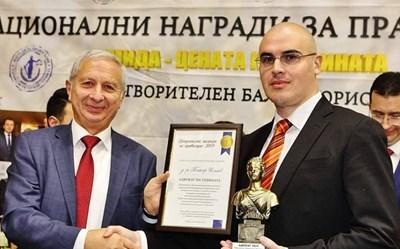 Спряганият за премиер Петър Илиев (вдясно)