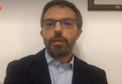 Д-р Петър Марков, епидемиолог в Училището по тропическа медицина в Лондон КАДЪР: БНТ