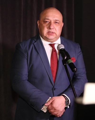 Министър Красен Кралев  СНИМКИ: Пресцентър на Министерството на младежта и спорта