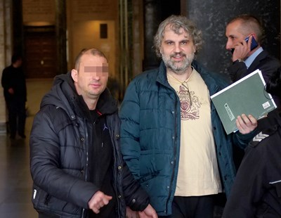 Подсъдимият Ясен Хедеяр твърди, че е невинен. СНИМКА: Йордан Симeонов