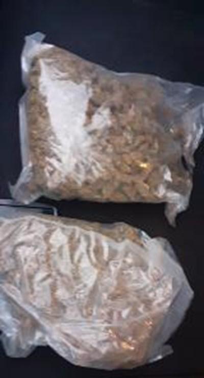 Иззетата марихуана Снимка: Архив