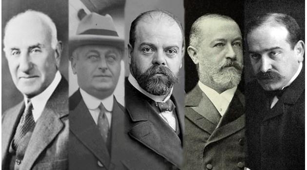 Кукловодите на Октомврийската революция - трима банкери и двама авантюристи стоят зад най-кръвожадния преврат в историята