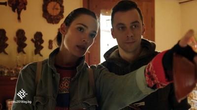 Актьорите Лорина Камбурова и Бойко Кръстанов играят главните роли в клипа, който представя българското европредседателство. СНИМКА: Снимки: Youtube