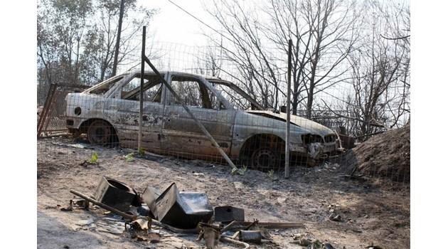 Изгоря колата на ексшефа на магистрална полиция в Дупница