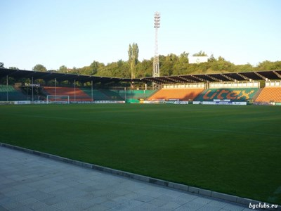 Градският стадион в Ловеч