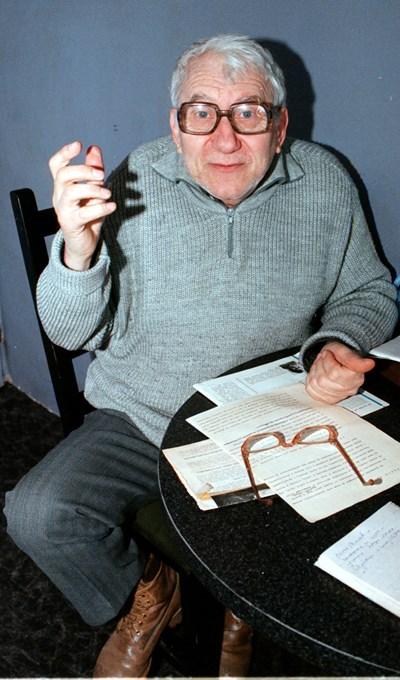 Писателят Панчо Панчев, известен като Дядо Пънч