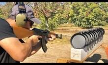 Колко тигана са необходими за да се спре куршум?