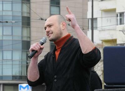 Симеон Костадинов е един от лидерите на Националистическата партия в България