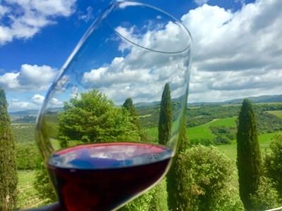 Ароматът на виното е определящ за това дали ни харесва, или не. СНИМКА: АВТОРЪТ