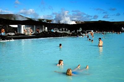 Синята лагуна в Исландия