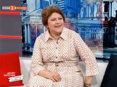 Татяна Дончева. Кадър БНТ