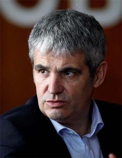 Лидерът на КНСБ Пламен Димитров. Снимка Архив