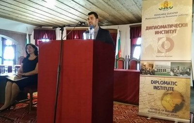 Зам.-министър Георг Георгиев откри дискусията СНИМКА: Община Велико Търново