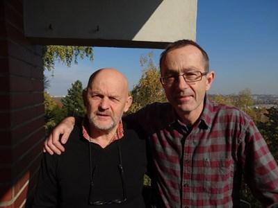 Валентин Ганев с автора Петър Зеленка