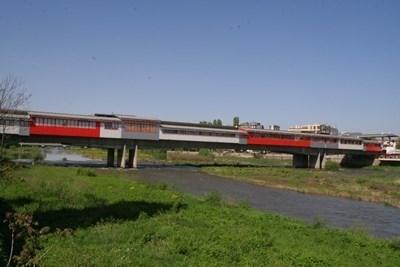 Река Марица в Пловдив. Снимка Архив
