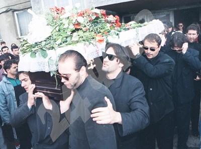 Погребението на Васил Илиев СНИМКА: 24 часа