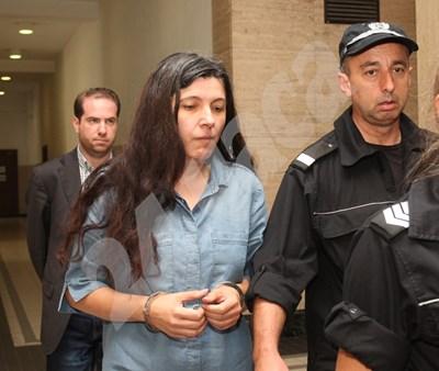 Мария Иванова бе задържана в началото на юли. В четвъртък тя не се яви в Софийския градски съд. СНИМКА: 24 часа