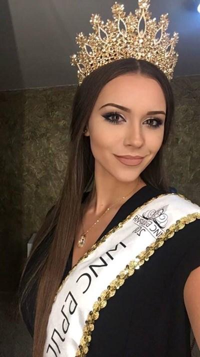 Теодора Мудева е най-красивата българка за тази година. СНИМКИ: ЛИЧЕН АРХИВ