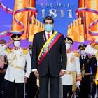 Президентът на Венецуела Никола Мадуро участваше в парада за Деня на независимостта в Каракас.