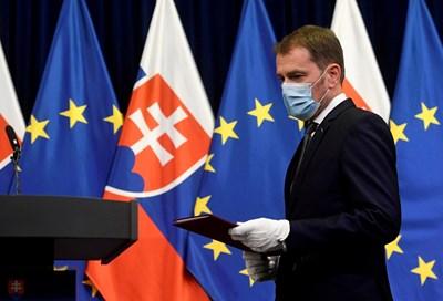 Премиерът на Словакия Игор Матович