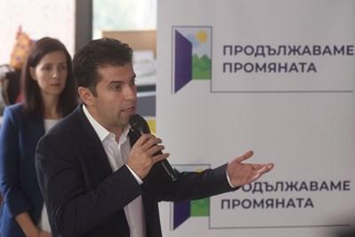 Кирил Петков Снимка: Велислав Николов