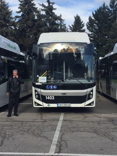 Маршрутите на автобуси и тролеи са променени