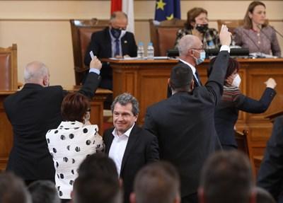 Предложенията за промени в Изборния кодекс бяха внесени още в първите дни на новия парламент.  СНИМКА: НИКОЛАЙ ЛИТОВ