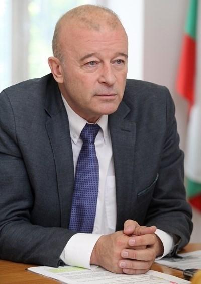 Заместник-министърът на транспорта Ангел Попов Снимка: Румяна Тонева