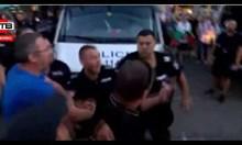 МВР пусна видео с насилие от снощните протести, вижте