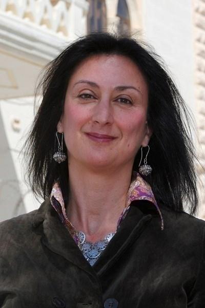 Малтийската разследваща журналистка Дафне Каруана Галиция СНИМКА: Ройтерс