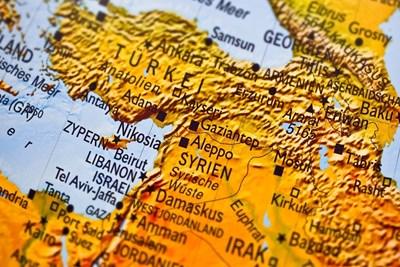 Сирия на картата СНИМКА: Пиксабей