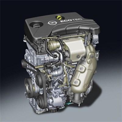 И Opel с трицилиндров мотор