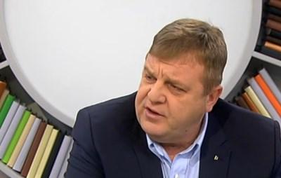Каракачанов: Може да подкрепим Реформаторите, ако програмите ни съвпадат (обновена)