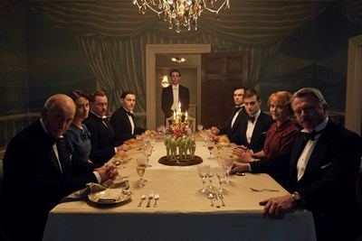 С роли в сериала са звезди като Сам Нийл и Чарлс Денс.