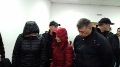 Бившата служителка в НОИ Александрина Георгиева в съда през миналата година.