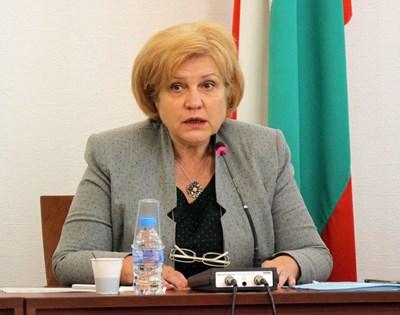 Председателят на бюджетната комисия в парламента Менда Стоянова.