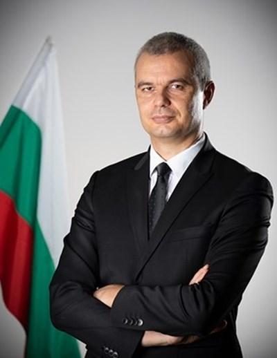 """Костадин Костадинов СНИМКА: официален сайт на политическа партия """"Възраждане"""""""