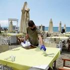 Кадър от плаж в Италия: Ройтерс