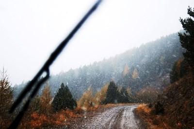 Снеговалеж по планински път СНИМКА: Пиксабел