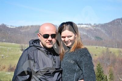 Планината е любимото място за отмора на Томислав Дончев и  Светлана. На снимката - по пътя за връх Ботев.  СНИМКА: 24 часа