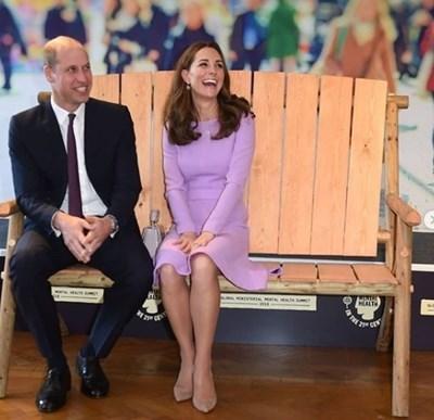 Принц Уилям със съпругата си Кейт СНИМКА: Ройтерс