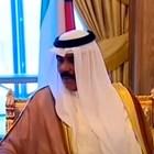 83-годишният шейх Науаф ал Ахмад ас Сабах КАДЪР: Youtube/MOI Kuwaitnews