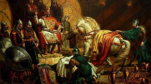 Първият графит на кирилица ни връща в империята на цар Симеон Велики