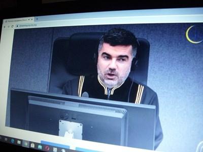 Съдия от Специализирания съд за Косово в Хага.