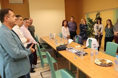 Даниел Панов представи новия инфраструктурен проект в едно от проспериращите предприятия във Велико Търново
